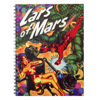 Lars of Mars Anthology Notebook