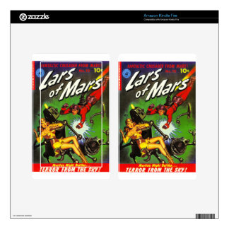 Lars of Mars Decals For Kindle Fire