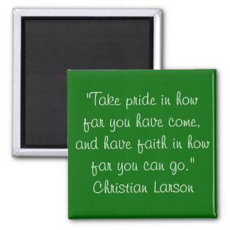 Larson cristiano imanes