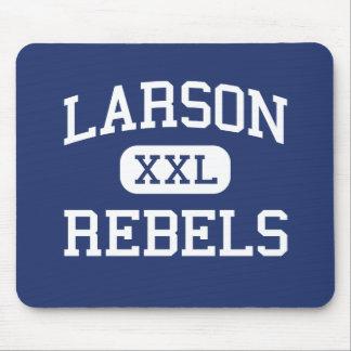 Larson rebela escuela secundaria Troy Michigan Alfombrillas De Ratones