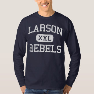 Larson Rebels Middle School Troy Michigan T-Shirt