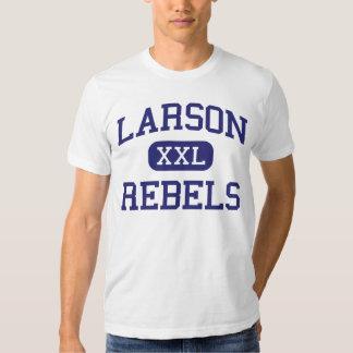 Larson Rebels Middle School Troy Michigan Tee Shirt