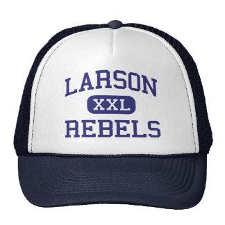 Larson Rebels Middle School Troy Michigan Trucker Hat