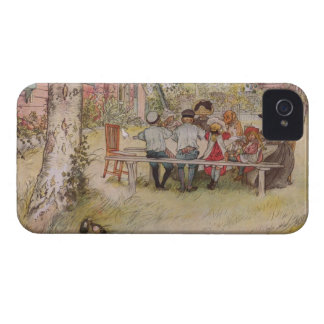 Larsson: Breakfast under the Big Birch iPhone 4 Cover