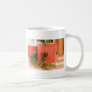 Larsson, Carl Suzanne on the Porch 1910.jpg Classic White Coffee Mug