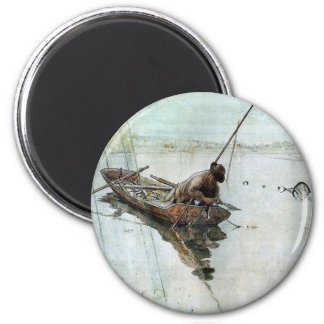 Larsson - pesca imán redondo 5 cm