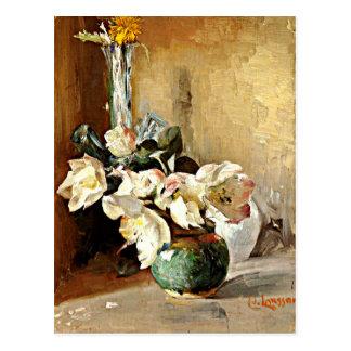 Larsson - Roses de Noel Postal