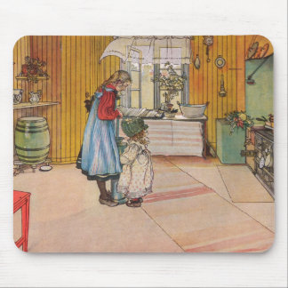 Larsson: The Kitchen, Art Mouse Pad