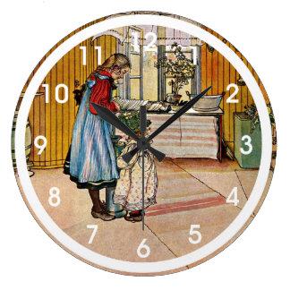 Larsson - The Kitchen Large Clock