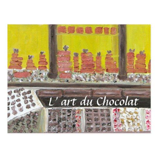 L'art du Chocolat Postcard