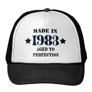 Larva in 1983 - Aged ton perfection Mesh Hat
