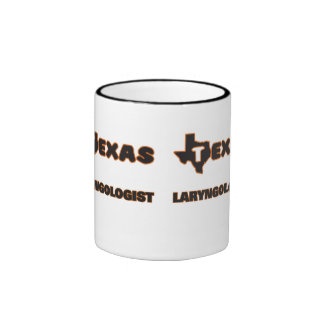 Laryngologist de Tejas Taza A Dos Colores