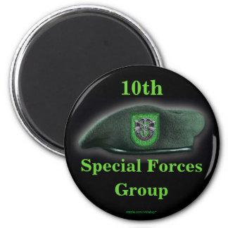 las 10mas fuerzas especiales agrupan al hijo de la imán redondo 5 cm