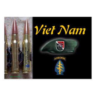las 11mas fuerzas especiales de la boina verde tarjetas de visita grandes