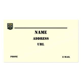 las 12mas fuerzas especiales agrupan la tarjeta de tarjetas de visita