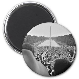 Las 1963 derechas civiles marzo en la C.C. de Wash Imán Redondo 5 Cm
