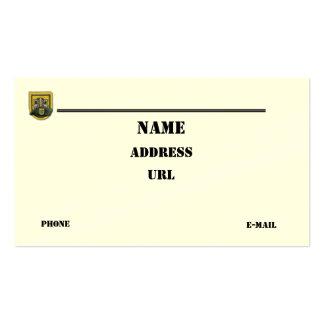 las 1ras fuerzas especiales agrupan la tarjeta de plantillas de tarjeta de negocio