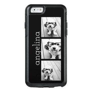 Las 3 fotos de moda y nombre - ELIJA EL COLOR DE Funda Otterbox Para iPhone 6/6s