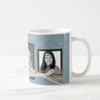 Las 3 fotos lindas envueltas con la cinta del taza clásica
