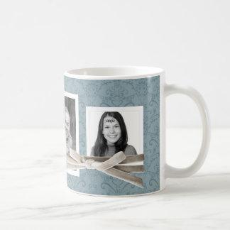 Las 3 fotos lindas envueltas con la cinta del taza de café