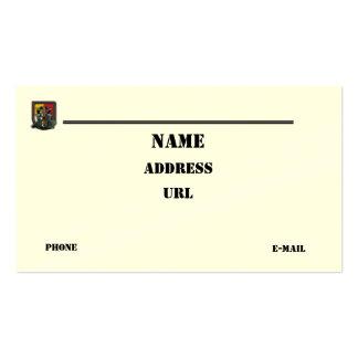 las 3ro fuerzas especiales agrupan la tarjeta de tarjetas de visita