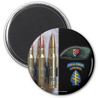 las 3ro fuerzas especiales destellan vfw del nam imán redondo 5 cm