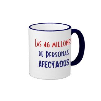 Las 46 millones de Personas Afectados Coffee Mugs