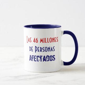 Las 46 millones de Personas Afectados Mug