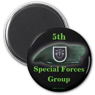 las 5tas fuerzas especiales agrupan el imán de Ira
