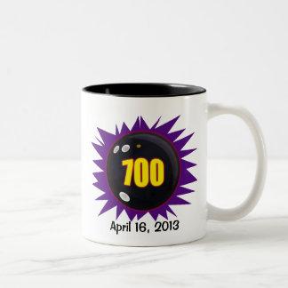 Las 700 series de los bolos taza