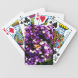 Las abejas estén zumbando baraja cartas de poker