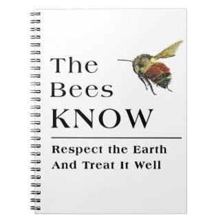 Las abejas saben libros de apuntes