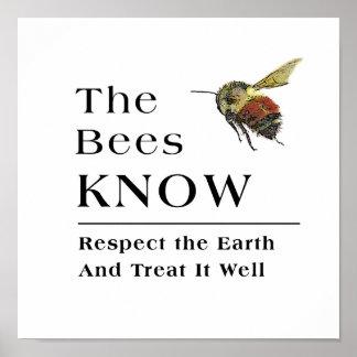 Las abejas saben impresiones