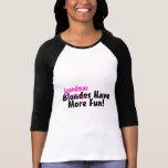 Las abuelas se divierten más camisetas