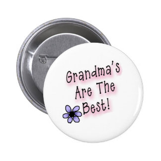 Las abuelas son el mejor pin redondo 5 cm