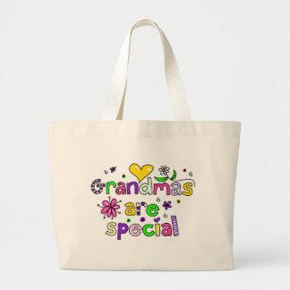 Las abuelas son especiales bolsa tela grande
