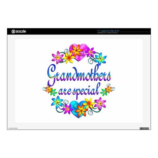 Las abuelas son especiales portátil 43,2cm skin