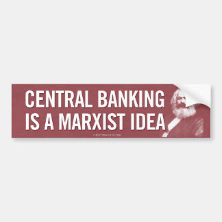 Las actividades bancarias centrales son pegatina p pegatina de parachoque
