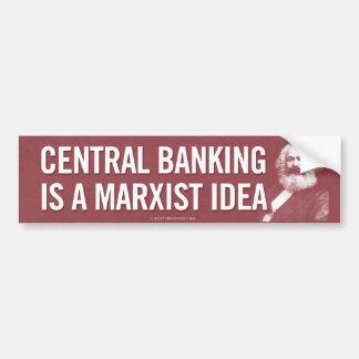 Las actividades bancarias centrales son pegatina p pegatina para auto
