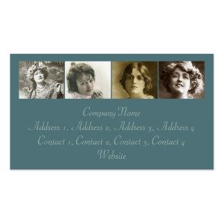 Las actrices #3 tarjetas de visita