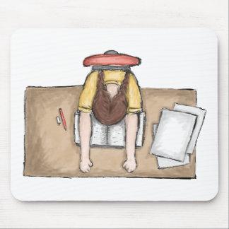 Las aflicciones del estudiante tapete de ratones