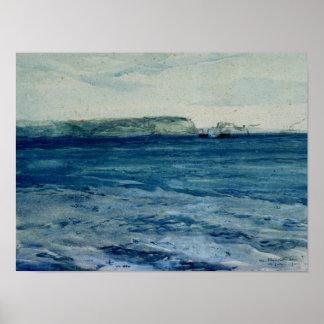 Las aguas azules de Plymouth, diecinueveavo Póster