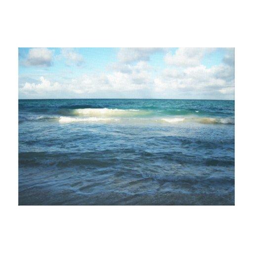 Las aguas de Hawaii Lienzo Envuelto Para Galerías