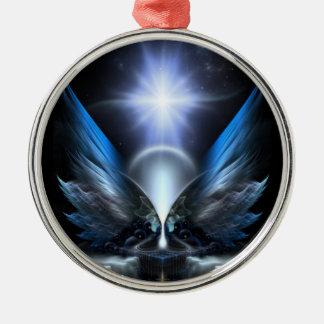Las alas de Anthropolis Ornamento De Navidad
