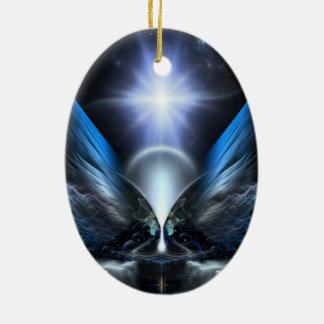 Las alas de Anthropolis Adornos De Navidad