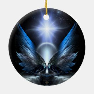 Las alas de Anthropolis Ornamentos De Navidad
