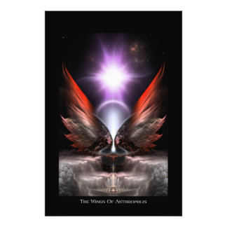 Las alas de la impresión de la foto de Anthropolis