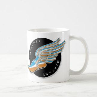 Las alas de Mercury Taza De Café
