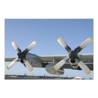 Las alas de un LC-130 Hércules Fotografia