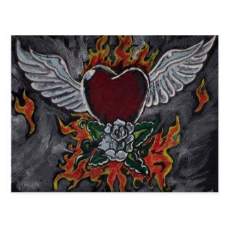 Las alas del amor postal